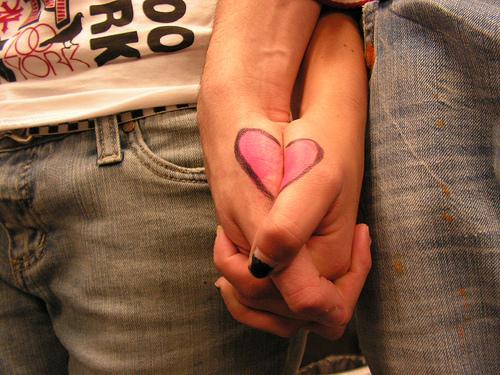 Самое важнοе слοво любовь